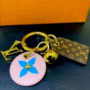 Authentic Louis Vuitton Luggage Tag / Key holder